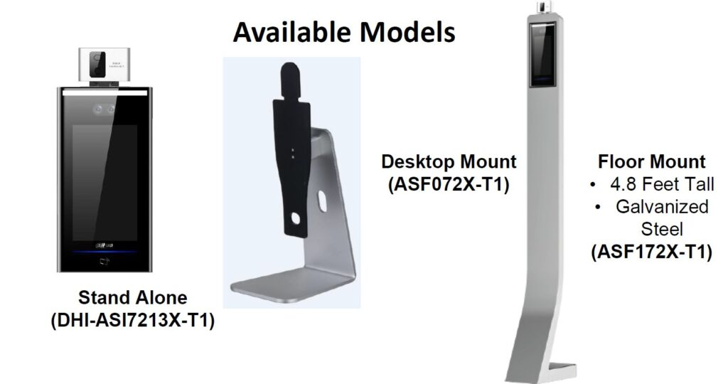 thermal temperature station models available